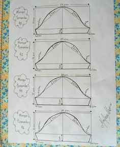Manga para os vestidos envelopes tamanhos 44 e - Best Sewing Tips Sewing Patterns Free, Clothing Patterns, Free Pattern, Sewing Hacks, Sewing Tutorials, Sewing Projects, Techniques Couture, Sewing Techniques, Pattern Cutting
