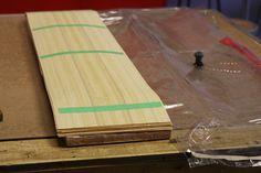 Build a Bamboo Longboard Butcher Block Cutting Board, Bamboo Cutting Board, Bamboo Longboard, Longboards, Skateboards, School Projects, Surf, Diy, Design