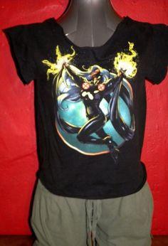 X Men Storm Super Hero Upcycled  TShirt Tank Top by KillWalmart, $15.00