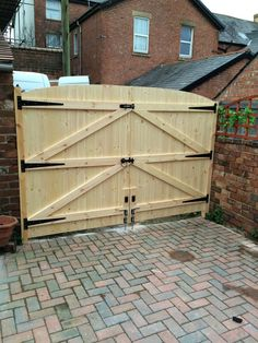 Picture 11 of 12 Driveway Fence, Backyard Gates, Wooden Driveway Gates, Fence Gates, Wooden Garden Gate, Wooden Gates, Wooden Fences, Wooden Gate Designs, Building A Gate