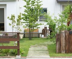 ふたりの外構①イメージ | ふたりがおうちを建てたあと(住宅情報館QUAD) Rooftop Garden, Balcony Garden, Indoor Garden, English Garden Design, Japanese Garden Design, Big Garden, Green Garden, Garden Sofa, Garden Furniture