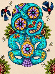 Lester Hall Art - Prints & Originals - Aotearoaland, Ngati Pakeha Inks