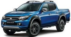 The fifth-generation of Japanese pickup trucks is coming with the all-new 2019 Mitsubishi If you never heard of that is maybe because this truck is mostly known as Triton. Mitsubishi Motors, Mitsubishi Strada, Mitsubishi Pickup, Mitsubishi L200, Mitsubishi Outlander, Mitsubishi Eclipse, Small Electric Cars, Electric Vehicle, Pajero Sport