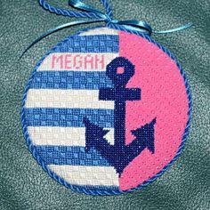 needlepoint anchor Ornament
