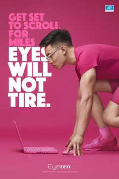 Essilor protects the eyes of millennials - pub eyezen - Creative Poster Design, Ads Creative, Creative Posters, Creative Advertising, Advertising Design, Advertising Poster, Social Advertising, Graphic Design Trends, Graphic Design Posters