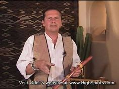Pt.5 Odell Borg's Intermediate How To Play Native American Flute