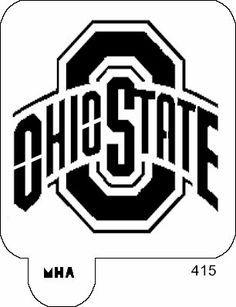ohio state logo stencil free - Google Search