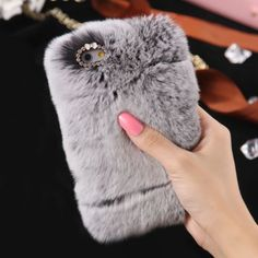 Deluxe-Winter-Warm-Soft-Fluffy-Rabbit-Fur-Crystal-Bling-Case-Cover-For-iPhone