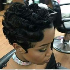 584 Best Finger Wave Styles Images