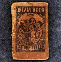 Antique Book Dream Book Fortune Teller Interpretation RARE Huestis 1843   eBay seller pentiques
