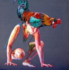 Cristina Troufa - Contemporary Artist - Figurative Painting - Galo - 2014