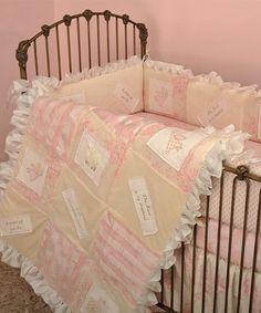 Look what I found on #zulily! Pink Heaven Sent Crib Bedding Set #zulilyfinds