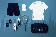 Andy Murray Under Armour US Open 2016 Kit White