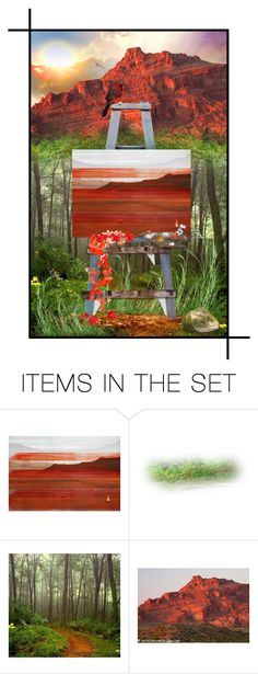 """Painter's Paradise"" by iamlegend ❤ liked on Polyvore featuring art"