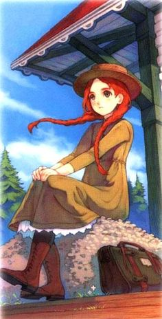 """Haccan, """"Anne of Green Gables"""" illustration"""