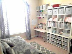 Craft room/guest room