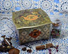 Купить Чайный короб. Короб чайный. Чайная шкатулка в интернет магазине на Ярмарке Мастеров