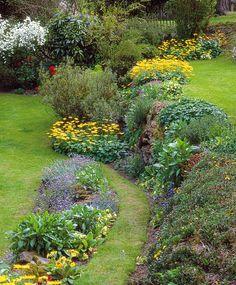bassin en ardoise au jardin contemporain   Plants   Pinterest ...