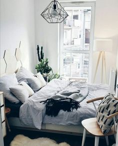30 Creative Image of Cozy Bedroom Ideas . Cozy Bedroom Ideas 99 Elegant Cozy Bedroom Ideas With Small Spaces 39 Rooms In 2018 Small Bedroom Ideas On A Budget, Cozy Small Bedrooms, Small Bedroom Designs, Budget Bedroom, Bedroom Small, Master Bedroom, Trendy Bedroom, Interior Design Small Bedroom, Small Minimalist Bedroom