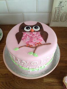 Their first birthday cake
