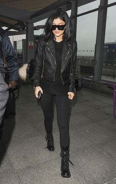 March 15, 2015 - Kylie Jenner at Heathrow Airport.