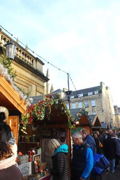 Bath Christmas Market // Scattering of Style