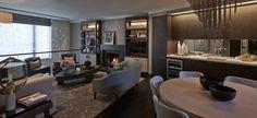 Modern interior design projects |Fiona Barrantt Interiors design the modern private residence in Knightsbridge, london|www.bocadolobo.com #interiordesignprojects #moderninteriors