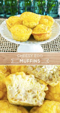 On busy school mornings its great to have quick grab-and-go breakfast options for you and your family. These Cheesy Egg Muffins are filled with protein-rich and kid-friendly ingredients like MARY KITCHEN Corned Beef Hash and shredded cheddar cheese. Breakfast On The Go, Low Carb Breakfast, Breakfast Options, Breakfast Dishes, Breakfast Time, Breakfast Recipes, Low Carb Recipes, Cooking Recipes, Egg Recipes