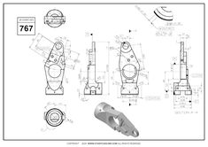 3D CAD EXERCISES 767 - STUDYCADCAM
