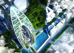 Vincent Callebaut's Futuristic Skyscraper