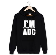 """I'M ADC, TOP, SUP"" League of Legends Sweatshirt //Price: $34.99 & FREE Shipping //     #lolfigurines"