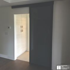 Our smokey milky glass panels are opaque and perfect for bathrooms where maximum privacy is needed. Our suspended wall slide feature no bottom track and come in a variety of frame finishes to match your home's design aesthetic. Glass Closet Doors, Sliding Glass Door, Sliding Doors, Bathroom Doors, Master Bathroom, Bathrooms, Sliding Door Company, Door Dividers, Privacy Walls