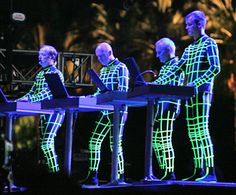 German electronic music band- #Kraftwerk.