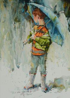 Bev Jozwiak Watercolor Artist :: A Little Disheveled