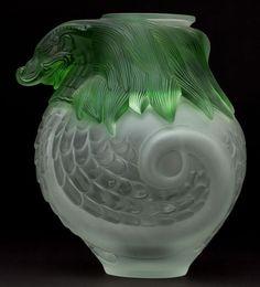 Indigo Dreams — René Jules Lalique | IMPERIAL GREEN DRAGON ....