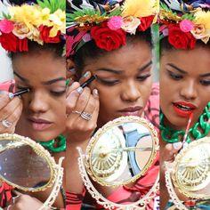 Make de Carnaval com o #TimeModices com maquiagem Mark.