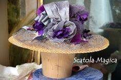Dettaglio cappello stile Belle Epoque, by Scatola Magica
