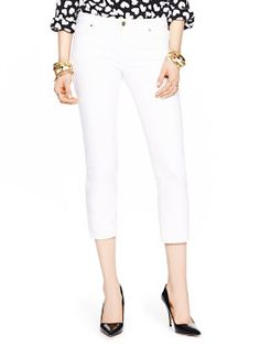 delancey street cropped jeans by kate spade new york