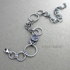 Sterling Silver Anklet by taniri on deviantART