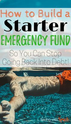 Tips to Help You Fund (and Keep) Your Emergency Fund Baby step the starter emergency fund, is the hardest one! Great tips to save money and start paying off debt in here! Ways To Save Money, Money Tips, Money Saving Tips, How To Make Money, Budgeting Finances, Budgeting Tips, Financial Tips, Financial Planner, Financial Literacy