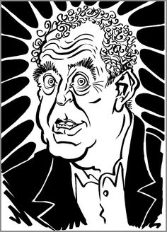 Caricature of Jeremy Clarkson @JeremyClarksonn for #TwitterCelebCarix