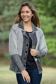 Women's Delson Handmade Cotton Cardigan Sweater, 07 CREAM, Size XS/S (2-4) Pure & Co.. $119.00