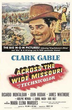 Across The Wide Missouri (1951) - Clark Gable DVD