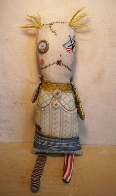 Monster Rag Doll Vienna by junkerjane, via Flickr
