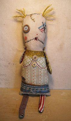 Monster Rag Doll Vienna by junkerjane, via Flickr