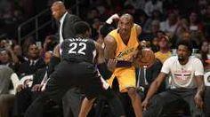 Vintage Kobe Blows by Defender, Current Kobe Bricks Wide-Open Layup