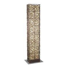 Eglo 89562A Shuko Antique Brown Floor Lamp