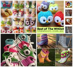 best of the whoot - FREE crochet patterns - LOTS of them!