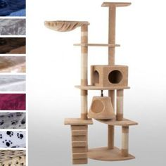 Jago24Large Cat Scratching Post KBM009/2beige