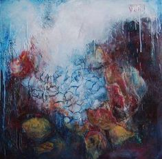 "Saatchi Art Artist Liba P Labik; New Media, ""Layers of Time VIII"" #art"